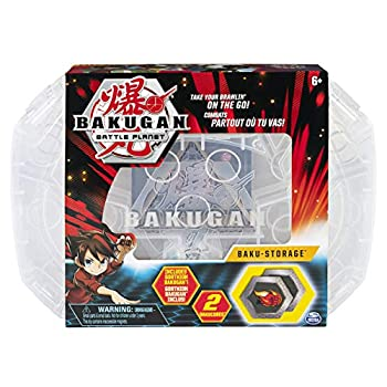 Bakugan Baku-Storage Case  White  Collectible Creatures for Ages 6 and Up