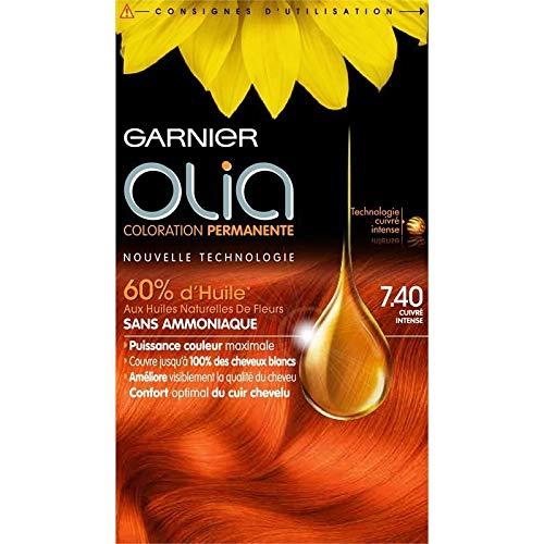 Garnier - Olia Color No. 7.40 Cobre Intenso - Lot