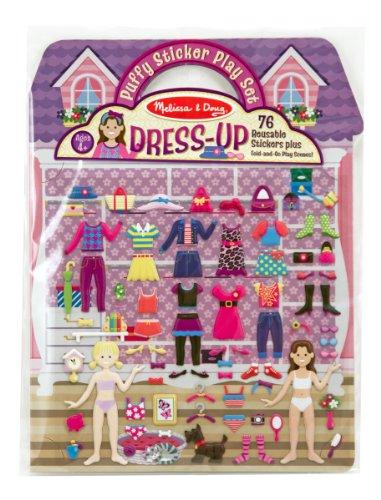 Price comparison product image Melissa & Doug Puffy Sticker Play Set: Dress-Up