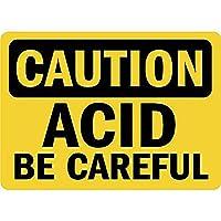 Caution Acid Be Careful ティンサイン ポスター ン サイン プレート ブリキ看板 ホーム バーために
