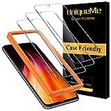 UniqueMe [3 Pack] Schutzfolie für Xiaomi Redmi Note 8T