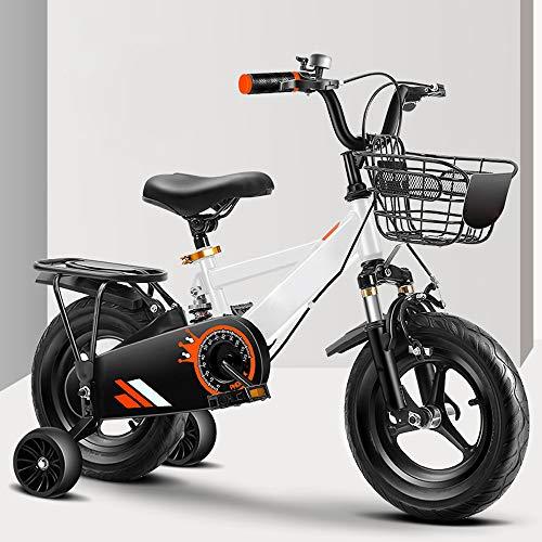 ZRZJBX 12-14-16-18 Pulgadas Bicicleta Infantil, para niñas y niños a Partir con...