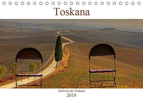 Herbst in der Toskana (Tischkalender 2019 DIN A5 quer): Herbstliche Impressionen aus der Toskana, die ab September mit wunderschönen Erdfarben aufwartet. (Monatskalender, 14 Seiten ) (CALVENDO Orte)