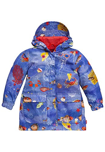 Oilily Mädchen Recycled Polyester Mantel Regenjacke Cap YS17GCO001