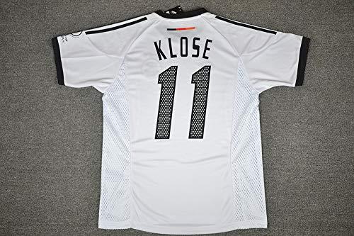 Klose#11 Retro Trikot 2002 White Color (XL)