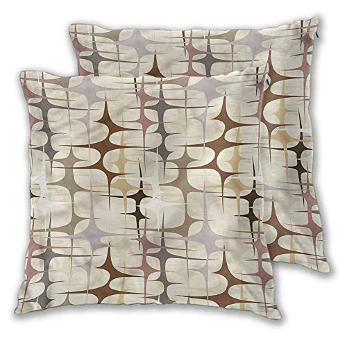 Sleeping Pillow Cream Home Sofa Decorative Funky Ornament Abstract Forms W13 xL13