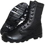 Krazy Shoe Artists Combat Jungle Boot Men in Black (12 US)