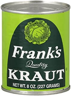 Franks Kraut Can, 8-Ounce (Pack of 24)