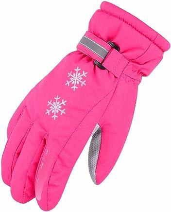 RenShiMinShop Wasserdichte Handschuhe des Rosa im Freienski Winddichte Kalte Warme Handschuhe fahrend B07FF4HZKY  | Der neueste Stil