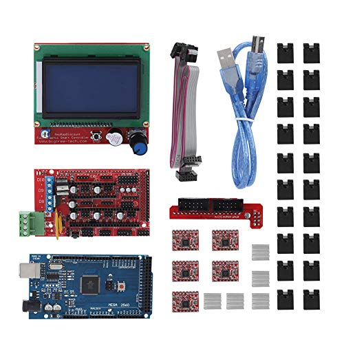 3D Printer Motherboard, 3D Printer Motherboard RAMPS 1.4 Shield/Circuit Board/Stepper Motor/LCD for Printer