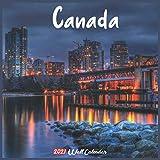 Canada 2021 Wall Calendar: Official Canada Calendar 2021, 18 Months