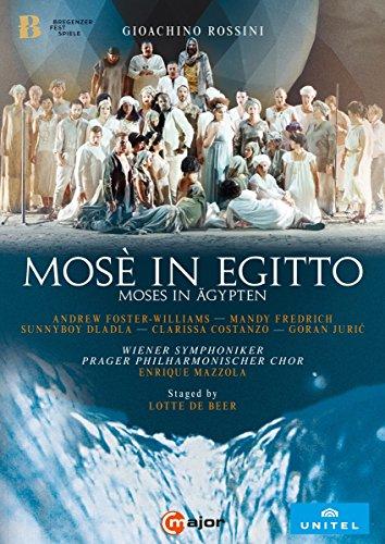 Rossini: Mosé in Egitto (Moses in Ägypten), Bregenz 2017 [2 DVDs]
