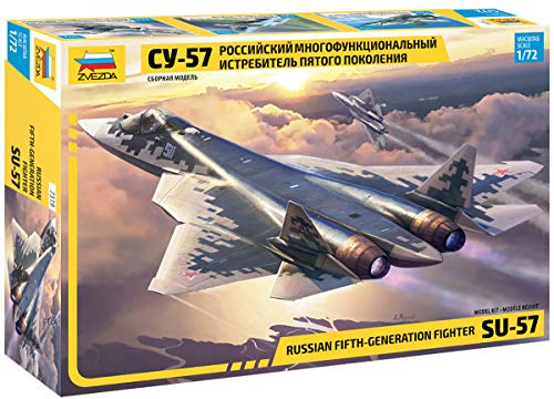 Zvezda 7319 SU-57 Russian Fifth-Generation Fighter 1/72 Model Kit