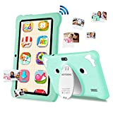Tablet para Niños 7 Pulgadas, Tablet Niños con WiFi, Android 9.0 Pie, 3 GB RAM 32 GB / 128 GB ROM, Google GMS Certificado, Control Parental, Educación, Juegos, Bluetooth, Doble Cámara (Azul)