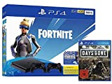 PlayStation 4 Slim - Konsole (500GB): Fortnite Neo Bundle + 2 Controller + Days Gone