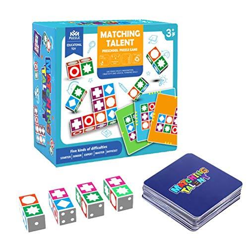 YsaAsaa Match Madness Brettspiel, Weltraum logisches Denkenbrettspiel, passendes Spiel Spielzeug...