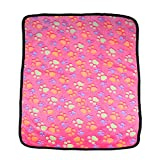 <span class='highlight'>Soft</span> <span class='highlight'>Dog</span> <span class='highlight'>Blanket</span> - Cute <span class='highlight'>Pet</span> Sleep <span class='highlight'>Mat</span> Washable Furniture Bed Cover with Pink <span class='highlight'>Paw</span> Printed - <span class='highlight'>Warm</span> <span class='highlight'>Pet</span> <span class='highlight'>Blanket</span> for <span class='highlight'>Dog</span>s, <span class='highlight'>Cat</span>s and Small Animals (60x40cm)
