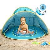 MG MULGORE Tienda de Playa para bebés portátiles Ligero Pop up Tienda, Sombra de Playa al...