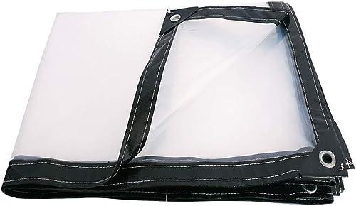 T-ShommeET Bache Transparente Imperméable à l'eau Antigel Isolant Poussière Anti-VieillisseHommest Tente Claire Stores 2X6M