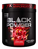 MRI Black Powder Pre-Workout Powder - Explosive Energy & Stamina - Intense...