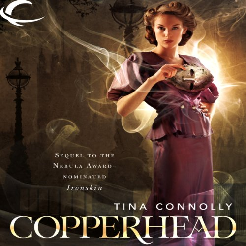Copperhead audiobook cover art