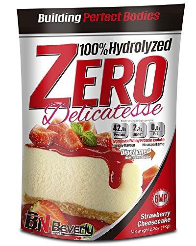 Beverly Nutrition Proteína Hidrolizada, Sabor Tarta de Queso Fresa - 1000 gr ✅