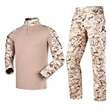 Tácticas Militares Uniforme De Combate Para Hombres Traje Camisa Y Pantalones Traje Uniforme De Camuflaje Traje De Rana Uniforme De Camuflaje Deportes Al Aire Libre,A,XL