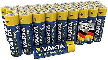 VARTA Industrial Batterij AA Mignon Alkaline Batterijen Verpakking van 40 stuks, Made in Germany, milieuvriendelijke...