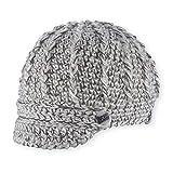 Pistil Women's Clara Knit Brimmed Beanie Hat, Ivory