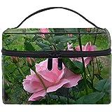 化粧ポーチ 機能的 大容量 オシャレ 祝い プレゼント ギフトローズガーベラデイジーの花