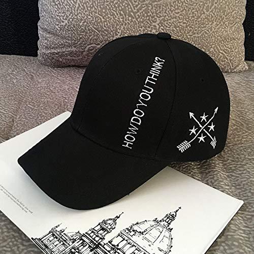 Sombrero de Marea de Invierno para Hombre, Sombrero de Hip-Hop Coreano, Gorra de béisbol Salvaje Informal, Gorra de Moda para Viajes de Pareja Femenina