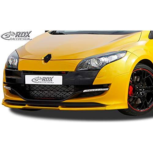 RDX Frontspoiler VARIO-X Megane 3 RS Frontlippe Front Ansatz Vorne Spoilerlippe