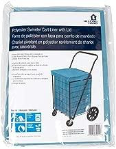 Helping Hand Cart Liner (Blue, Large) - Designed for Swiveler Cart