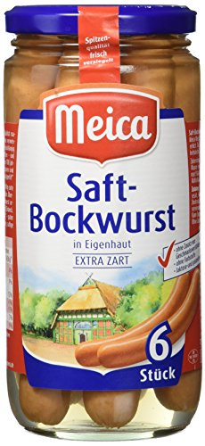 Meica Saft Bockwurst, 6Stück, 180g