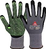 PADUA GRIP verde, guanti da lavoro, guanti di protezione, guanto da montaggio in schiuma di nitrile nubatoTaglia: 8