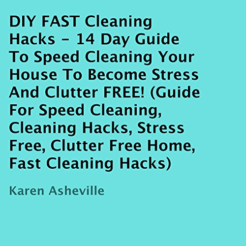 DIY FAST Cleaning Hacks  audiobook cover art