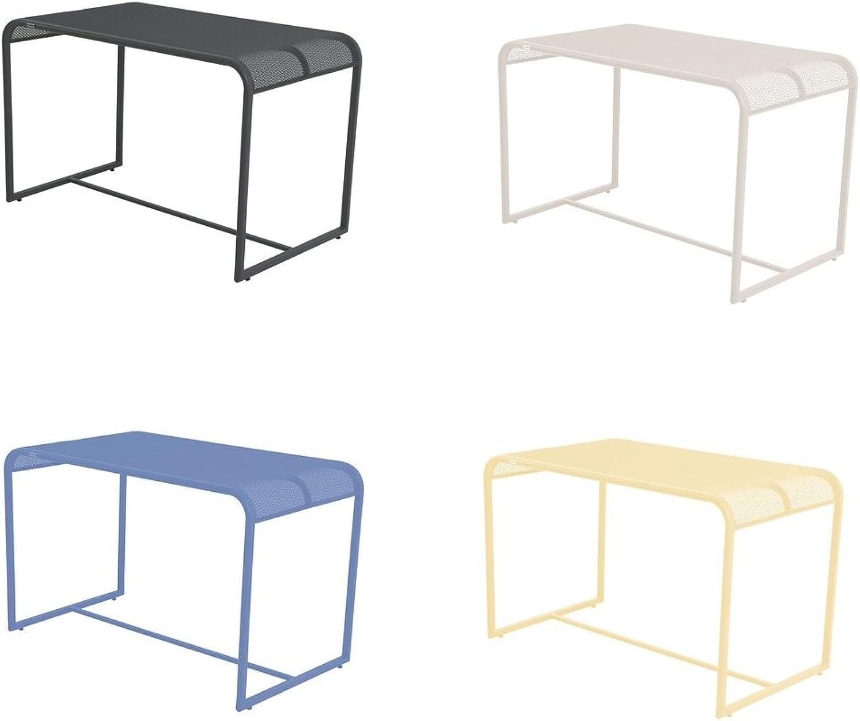 Gartentisch   Balkontisch aus Streckmetall in vier trendigen Farben (Beige)