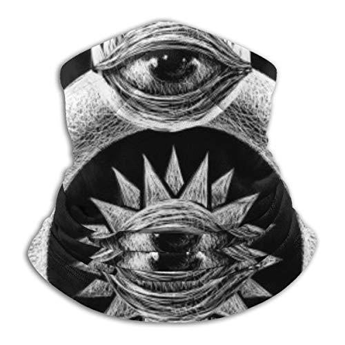 hfdff Conjunto de símbolos místicos, pasamontañas, máscara facial, ligera, Unisex, para adultos, a la moda, protector bucal, tela reutilizable y lavable
