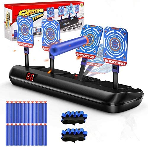 TOPMARK Electronic Shooting Targets for Nerf Guns Blaster Toys Scoring Auto Reset Digital Electric product image