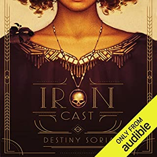 Iron Cast                   By:                                                                                                                                 Destiny Soria                               Narrated by:                                                                                                                                 Christine Marshall                      Length: 9 hrs and 43 mins     35 ratings     Overall 4.2