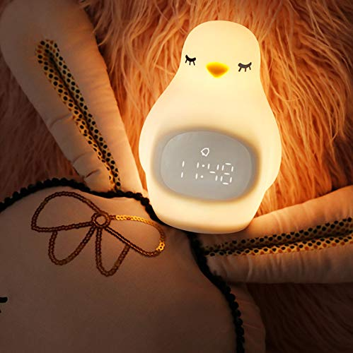 Wekker met siliconen Pat Light USB-lader multifunctioneel met nachtlampje Student Snooze Alarm 105