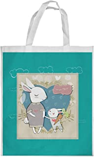 love you mom Printed Shopping bag, Small Size
