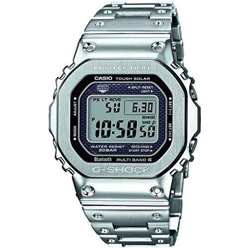Casio Herren Digital Quarz Uhr mit Edelstahl Armband GMW-B5000D-1ER