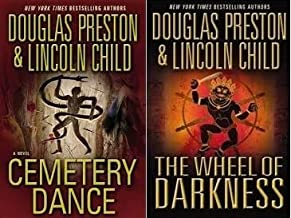 Set of 2 The Wheel of Darkness , Cemetery Dance - Douglas Preston & Lincoln Child