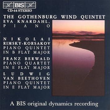 Rimsky-Korsakov / Beethoven: Piano Quintets / Berwald: Piano Quartet