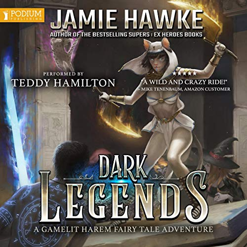 Dark Legends audiobook cover art