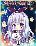 Chibi Girls: Livre de coloriage Pour les enfants avec des personnages adorables Kawaii, dessins animés de mangas féminins | Livre de coloriage des filles Chibi