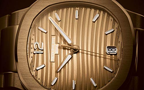 Patek Philippe Nautilus Rose Gold 7118-1R-010 with Golden Brown Opaline dial