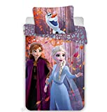 Dekbedovertrek Frozen 2 Sister 140x200+70x90 cm