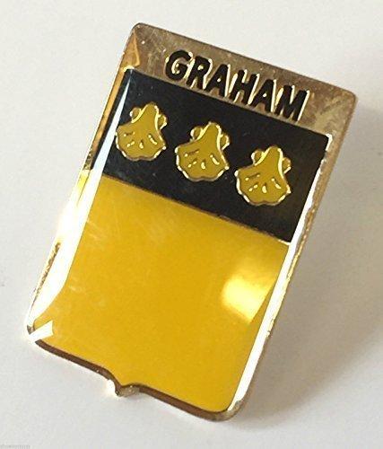 Écosse Famille Clan Nom Graham Aigrettes Badge